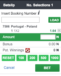 place a mobile bet